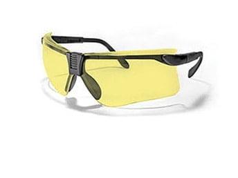 DEBEN strelecké okuliare - žlté