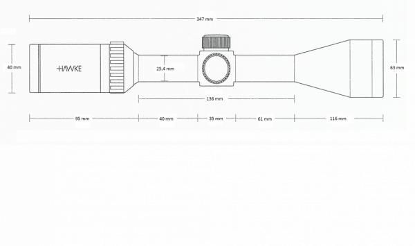 Panorama 5-15x50 AO (10x Half Mil Dot)