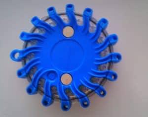 Výstražné svietidlo Modré 1ks