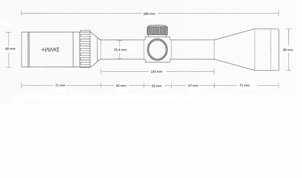 Vantage 4x32 (Mil Dot)