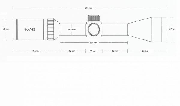Vantage 2-7x32 AO (30/30 Duplex)