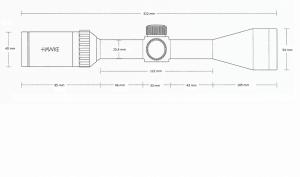 Vantage 3-9x40 AO (Mil Dot)