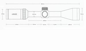 Vantage 4-12x40 AO (30/30 Duplex)