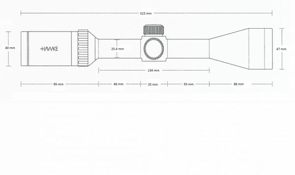Vantage IR 3-9x40 (Rimfire .22 LR Subsonic)