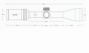 Vantage IR 3-9x50 (Mil Dot)