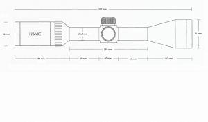 Vantage SF 3-12x44 (Half Mil Dot)