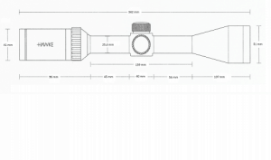 Vantage SF 4-16x44 (Half Mil Dot)