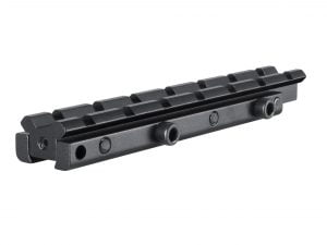 "ADAPTOR BASE 1 PIECE 3/8"" RIFLE TO WEAVER ELEVATED"
