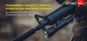Klarus XT12GT (1600lm)