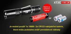 Klarus XT2C (1100lm)
