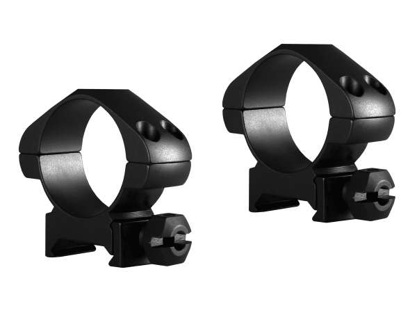 Precision Steel Ring Mounts Weaver (2pcs /30mm Medium, With Nut)