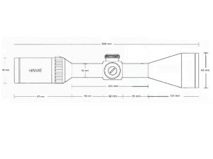 HAWKE Endurance 30 WA SF IR 4-16x50 (LR Dot 8x)