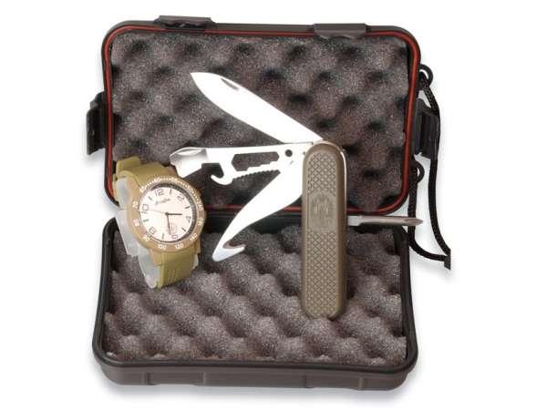 Martinez Albainox Set: Box + Coyote Watch + Multi-tool 11082. (3