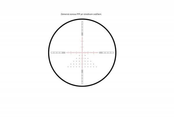 HAWKE Sidewinder FFP 30 SF IR 4-16x50 (FFP Mil)