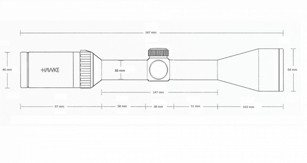 Vantage 30 WA IR 3-12x56