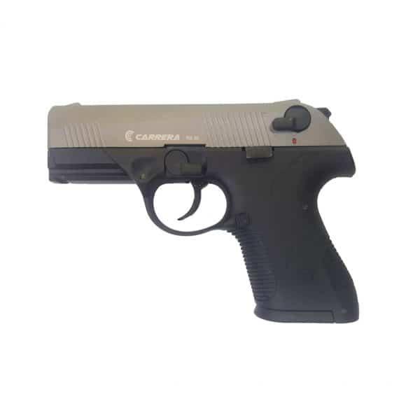 Plynová pištol CARRERA RS30 - Black/Fume (Frame/Slide)