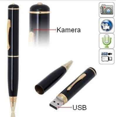 SPION Pero s kamerou a mikrofónom 4GB