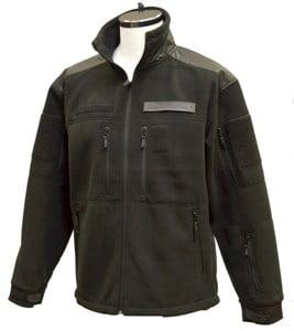 GURKHA REINTEX bunda fleece olivová, čierna