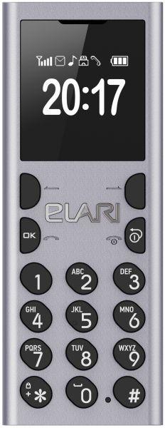 Elari NanoPhone C Ultra Compact strieborný
