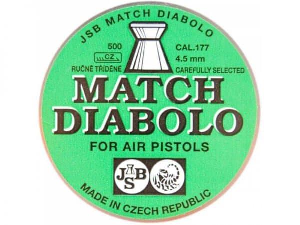 Náboje MATCH DIABOLO 4,50mm/500ks