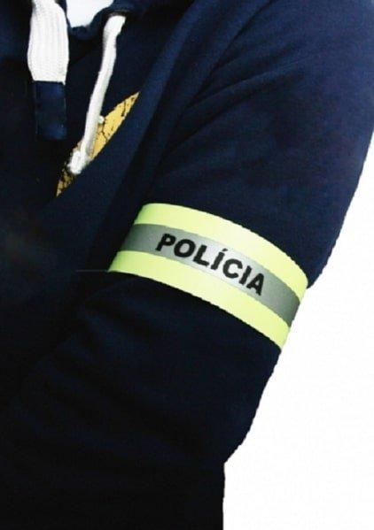 Páska reflexná POLíCIA 40cm