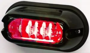 WHELEN LIN6 12V LED RED/CLR séria 500