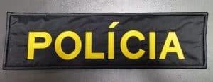 Nášivka POLÍCIA veliteľská 35x10 veľká so s