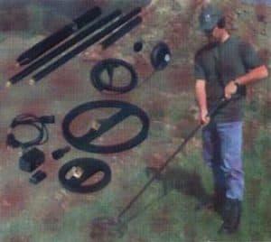 Detektor kovov EBEX 410