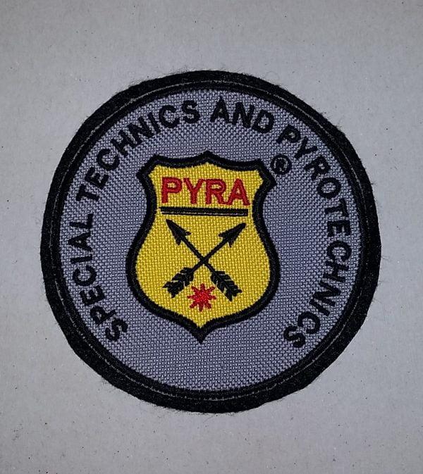 Nášivka PYRA SPECIAL TECHNICS AND PYROTECHNICS