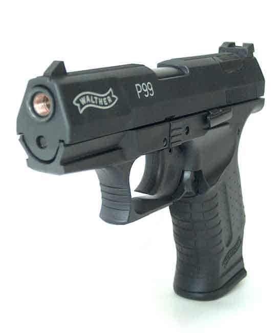 Plynová pištoľ Walther P99 Black 9mm