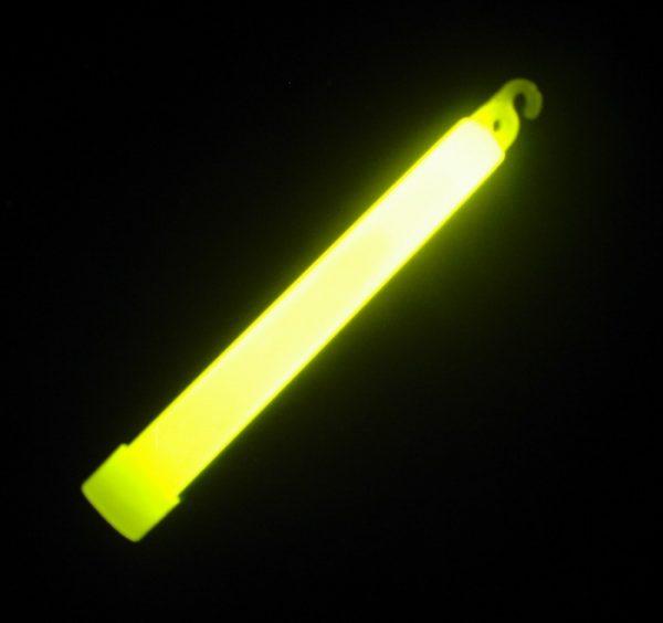 Chemické svetlo 15 cm žlté