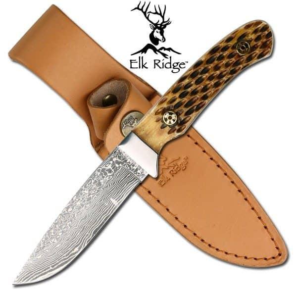 ELK RIDGE Hunter Damascus ER1262DB