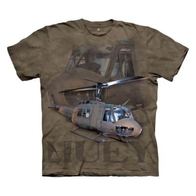ECO Batikované tričko lietadlo