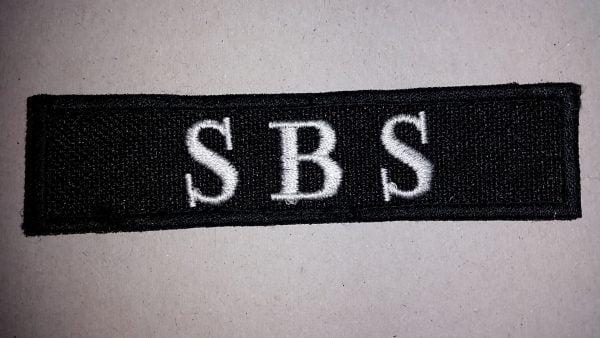 Nášivka SBS
