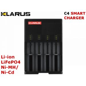 KLARUS C4 - nabíjačka na 4ks