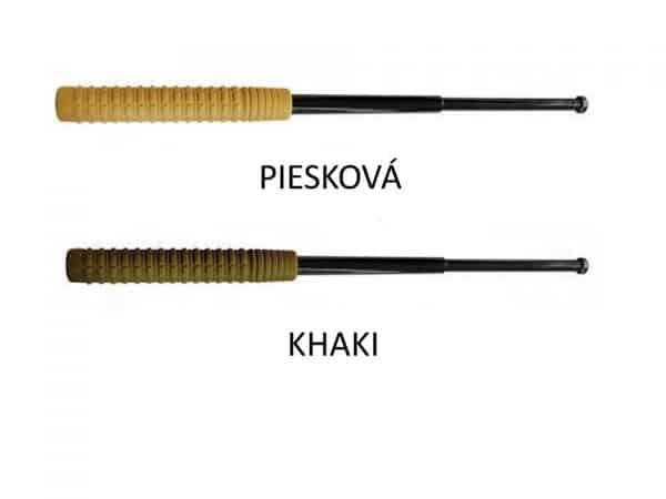 Teleskopický obušek kalený 21″ / 530 mm KHAKI / P
