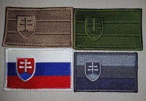 Nášivka Vlajka so znakom SR