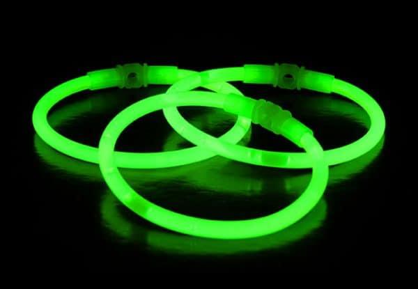 Chemické svetlo náramok - zelený