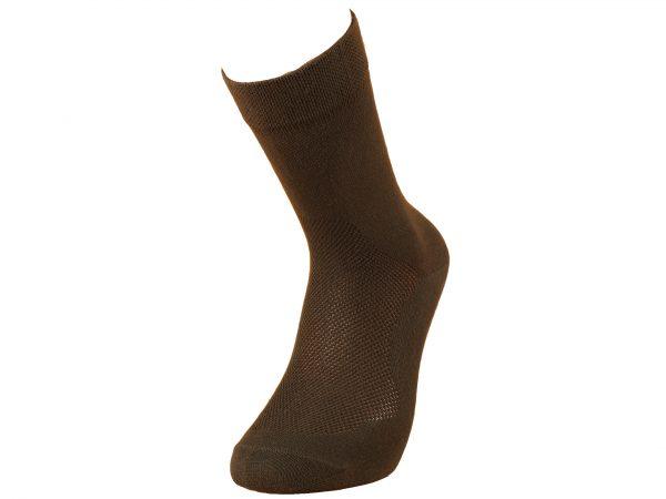 BOBR ponožky spoločenské čierne