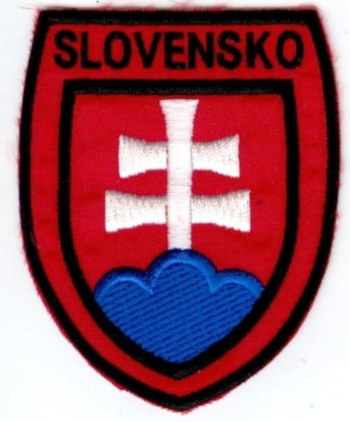 Nášivka SLOVENSKO 8cm